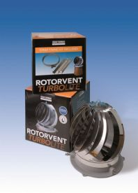 Rotovent Turbolite Spinning Cowl - All Fuels
